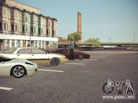 GTA SA Low Style v1 para GTA San Andreas quinta pantalla