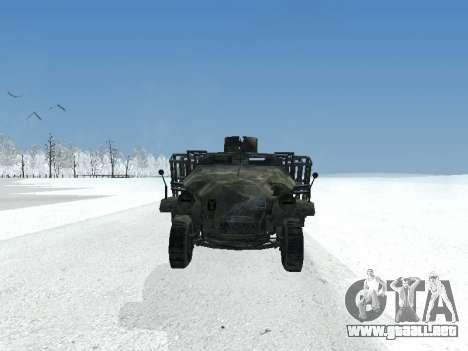 SdKfz 251 para GTA San Andreas left