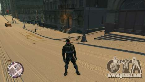Crysis NanoSuit para GTA 4 tercera pantalla