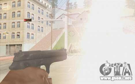 Pistola Stechkin para GTA San Andreas tercera pantalla