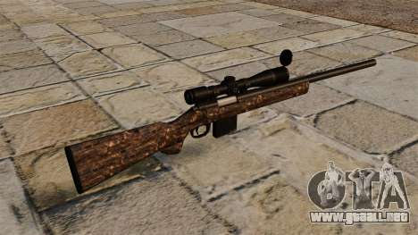 Rifle de francotirador M40 sucio para GTA 4 segundos de pantalla