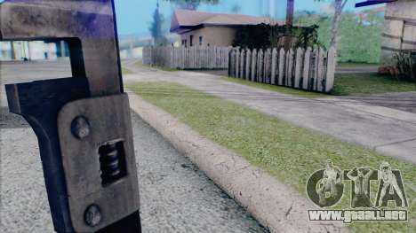 Llave ajustable para GTA San Andreas tercera pantalla