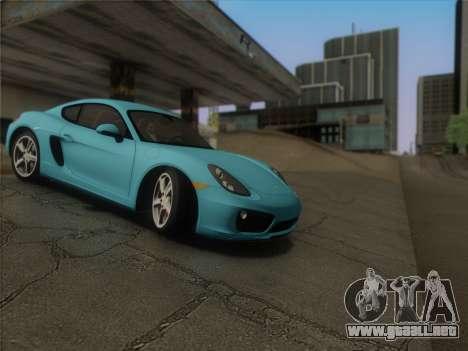 SA_graphics v. 1 para GTA San Andreas tercera pantalla