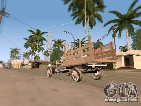 Citroen 2CV (Diana) para la visión correcta GTA San Andreas