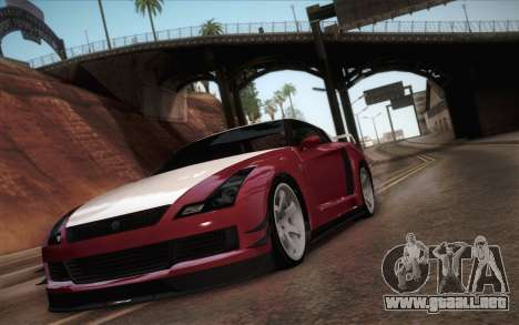 Elegy RH8 from GTA V para GTA San Andreas left
