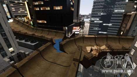 Algonquin Stunt Ramp para GTA 4 quinta pantalla