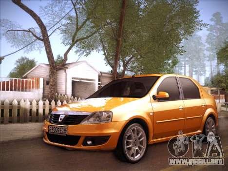 Dacia Logan GrayEdit para visión interna GTA San Andreas