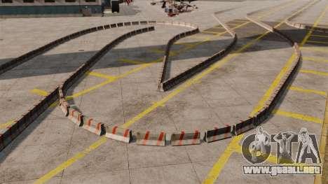 Airport RallyCross Track para GTA 4 adelante de pantalla