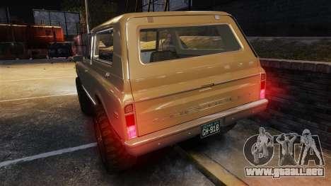Chevrolet Blazer K5 1972 para GTA motor 4