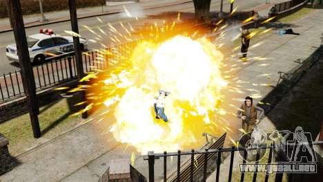 Balas explosivas para GTA 4 quinta pantalla