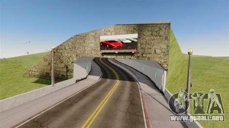 Salón del automóvil de Lamborghini para GTA 4 tercera pantalla