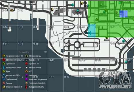 Mapa con Winter Edition [Samp-Rp] para GTA San Andreas