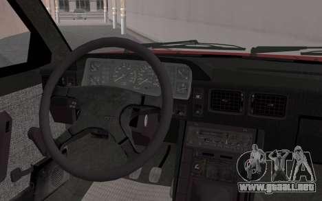 FSO Polonez Caro 1.4 GLI 16V para la visión correcta GTA San Andreas