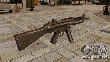 Subfusil HK MP5 para GTA 4 segundos de pantalla