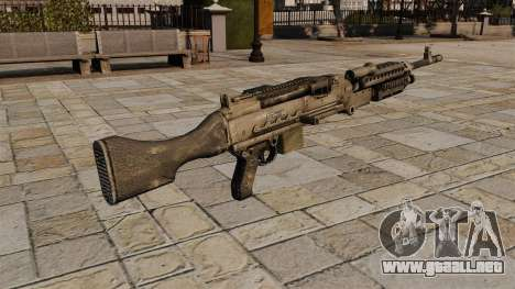 M240 Ametralladora de propósito general para GTA 4 segundos de pantalla
