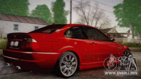 BMW E46 M3 Coupe para GTA San Andreas left