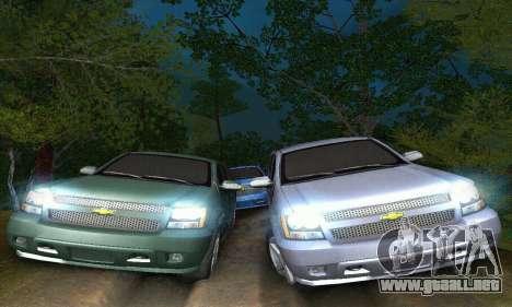 Chevrolet Suburban 2008 para visión interna GTA San Andreas