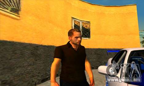 Paul Walker para GTA San Andreas tercera pantalla