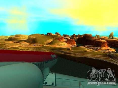 ENBSeries with View Distance para GTA San Andreas sexta pantalla
