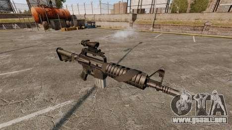 Rifle de asalto-Colt AR-15 para GTA 4