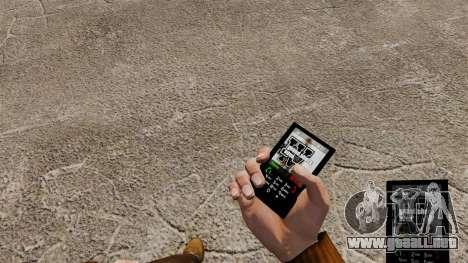 Tema de GTA IV para tu teléfono para GTA 4