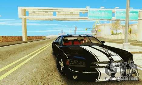 Dodge Charger DUB para GTA San Andreas vista posterior izquierda