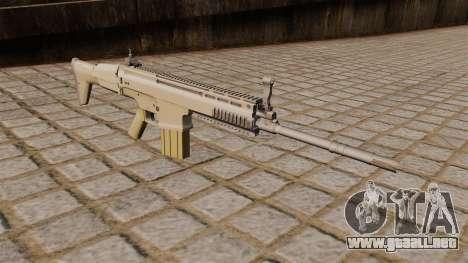 Rifle FN SCAR-H para GTA 4
