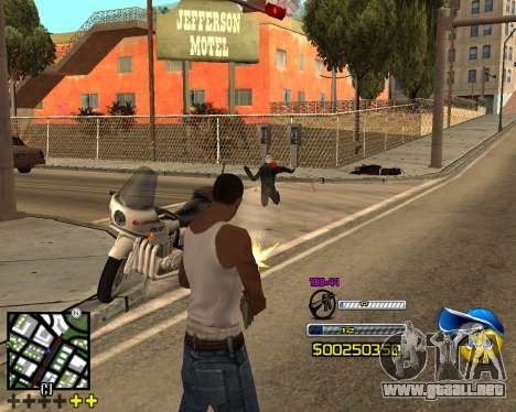 C-HUD by Alex-Castle para GTA San Andreas