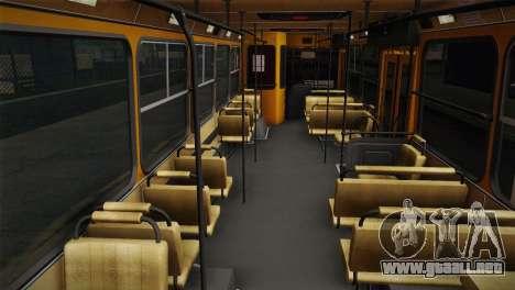 LIAZ 5256.00 para la visión correcta GTA San Andreas