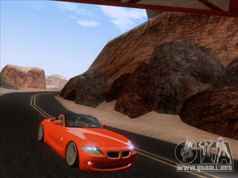 BMW Z4 Edit para GTA San Andreas