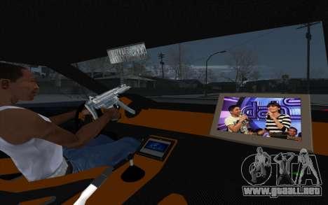 Tuned Elegy para GTA San Andreas vista hacia atrás