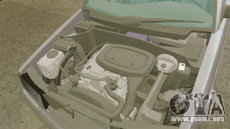 Mercedes-Benz E190 W201 para GTA 4 vista interior