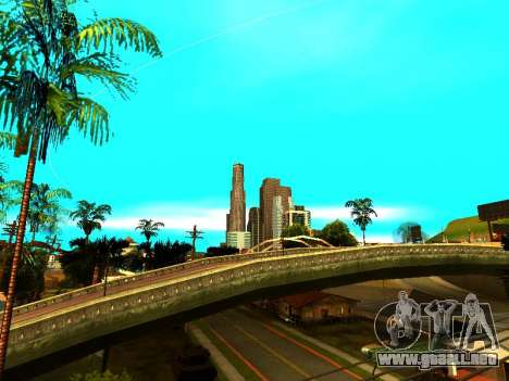 ENBSeries with View Distance para GTA San Andreas sucesivamente de pantalla