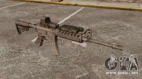 M4 carbine SOPMOD v3 para GTA 4