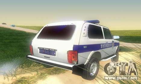 Lada Niva Patrola para la visión correcta GTA San Andreas