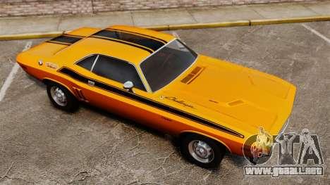 Dodge Challenger 1971 v2 para GTA 4 interior