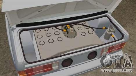 BMW M3 1990 Race version para GTA 4 vista interior