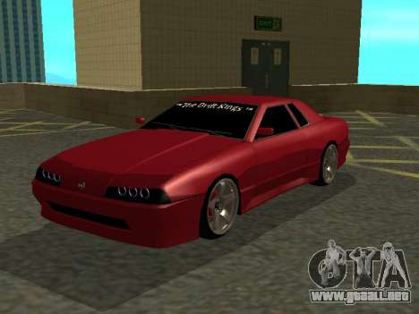 Elegy TDK-The Drift Kings para GTA San Andreas left