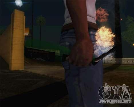 Champagne para GTA San Andreas tercera pantalla
