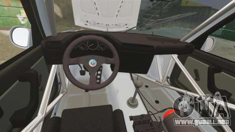 BMW M3 1990 Race version para GTA 4 vista lateral