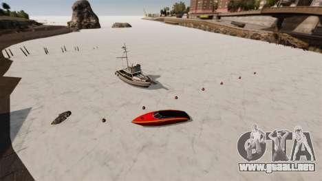 Agua congelada para GTA 4