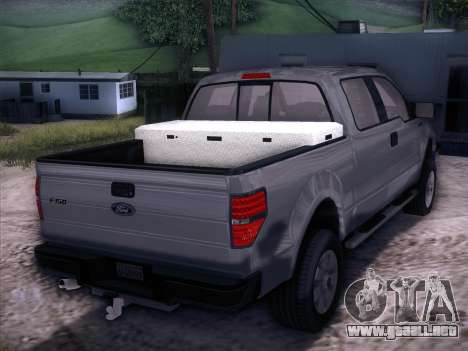 Ford F-150 ST Trim 2010 para GTA San Andreas left