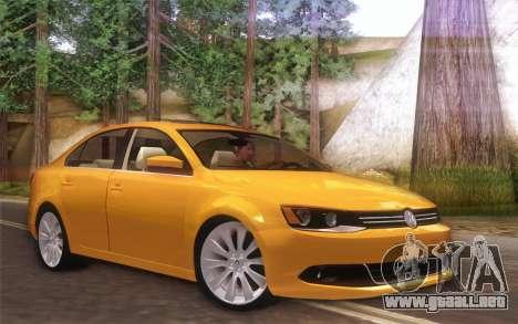 Volkswagen Vento 2012 para GTA San Andreas left
