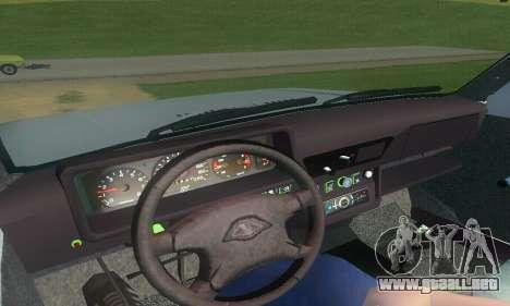 Lada Niva Patrola para GTA San Andreas vista hacia atrás
