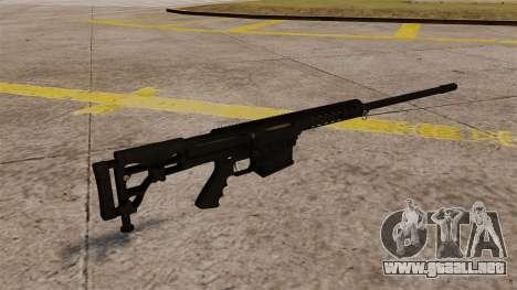El fusil Barrett M98B para GTA 4 segundos de pantalla