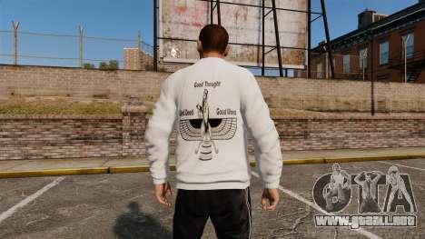 Suéter iraní para GTA 4 segundos de pantalla