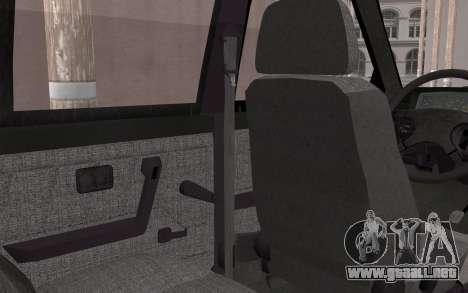 FSO Polonez Caro 1.4 GLI 16V para GTA San Andreas vista hacia atrás
