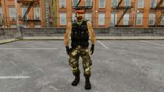 Terrorista guerrillera de América del sur para GTA 4