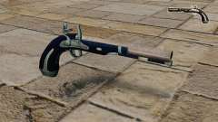 Pistola de pedernal-cerradura