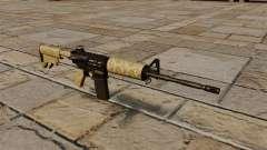 Automático carabina M4A1 desierto para GTA 4